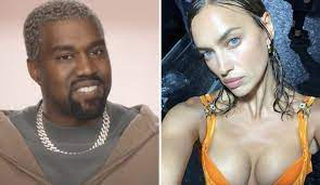 Kanye West and Irina Shayk spark dating after divorce of Kim Kardashian